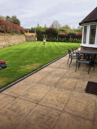 grass cutting + treatment 3